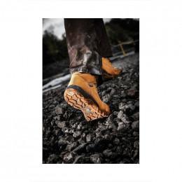chaussure disckies graton marron cuir